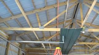 Keener Metal Ceiling - Mason Line Parallel