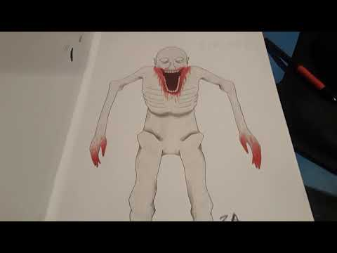 SCP-096 Drawing