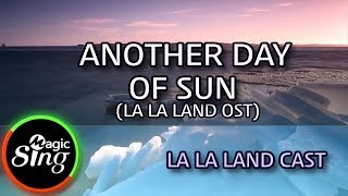 [MAGICSING Karaoke] LA  LA LAND CAST  - ANOTHER DAY OF SUN (LA LA LAND OST)  karaoke | MAGICSING Resimi