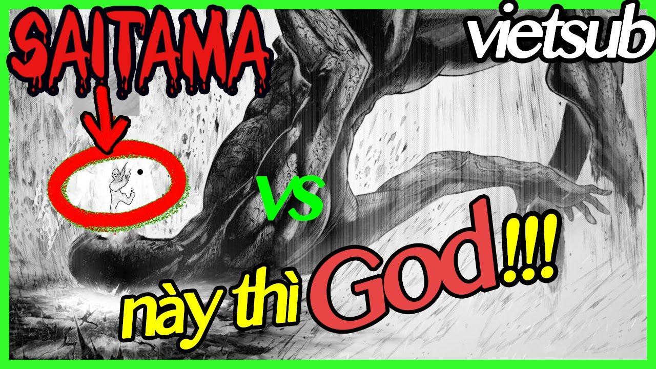 Saitama vs God part 1 VIETSUB | Đấng tối cao xuất hiện [ One punch man ngoại truyện ]
