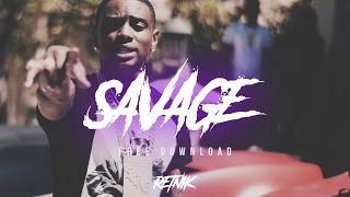 'SAVAGE' Hard Distorted 808 Type Trap Beat Rap Instrumental | Retnik Beats