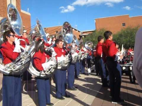 Pride of Arizona post-game concert, 11-10-12