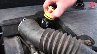 Вода из выхлопной трубы - Заливка Motoguard (Мотогард) в Ford Fusion