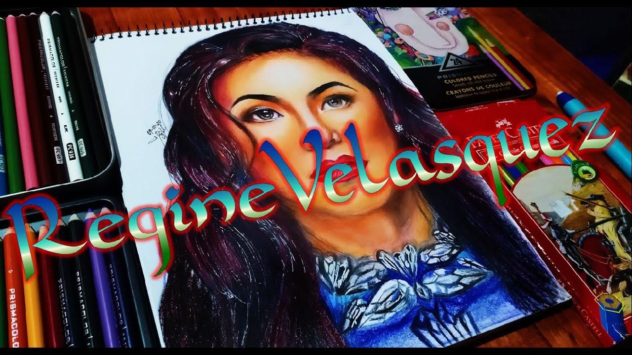 REGINE VELASQUEZ-ALCASID (Asia's Songbird) Color Pencil Portrait