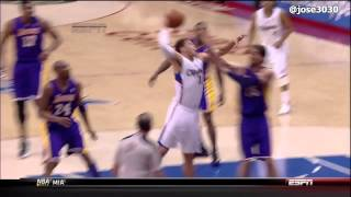 Blake Griffin Poster Dunk on Pau Gasol - Lakers @ Clippers - 4/4/2012