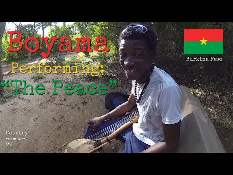 "Memories from Burkina Faso - Boyama performing ""The peace"" ❤️🇧🇫✨"
