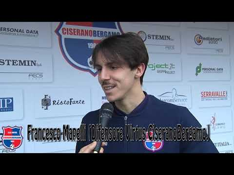 Virtus Ciserano Bergamo-Ponte San Pietro 1-1, 22° giornata girone B Serie D 2019/2020
