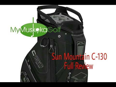 Sun Mountain C-130 golf bag review