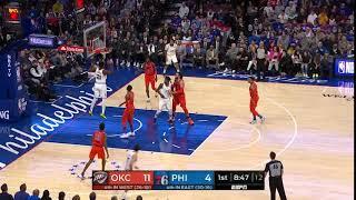 1st Quarter, One Box Video: Philadelphia 76ers vs. Oklahoma City Thunder