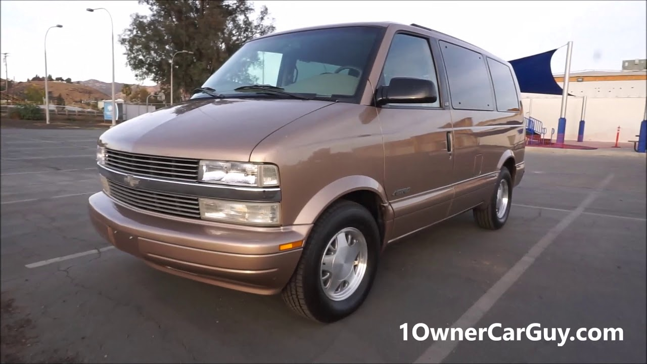 medium resolution of chevy astro van minivan loaded 1 owner 68k miles for sale exterior video