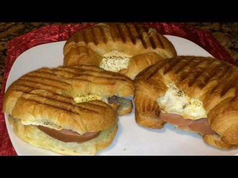 Breakfast Egg Croissant