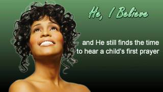 Whitney Houston - He, I Believe (Live in San Jose, 1987)