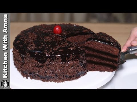 Triple Layer Chocolate Fudge Cake Recipe Without Oven By Kitchen With Amna
