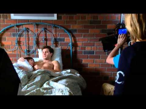 Jamie Dornan & Dakota Johnson || Behind the scenes