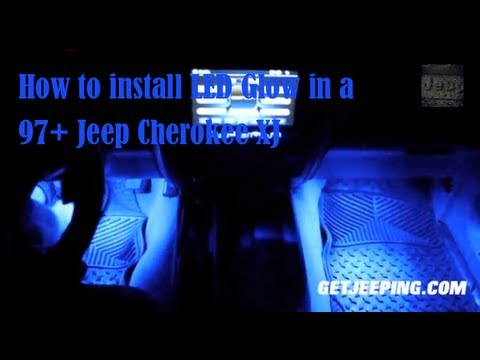 How To: Install LEDGlow In A 1997 - 2001 Jeep Cherokee XJ - GetJeeping