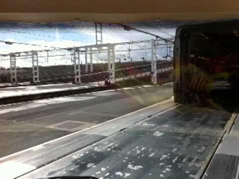 Boarding at Eurotunnel in Calais