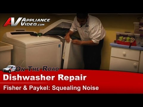 Fisher & Paykel Dryer - Making Squealing Noise - Drum Bearing Issues