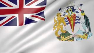 British Antarctic Territory Animated Flag