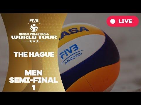 The Hague 3-Star 2017 - Men Semi Final 1 - Beach Volleyball World Tour