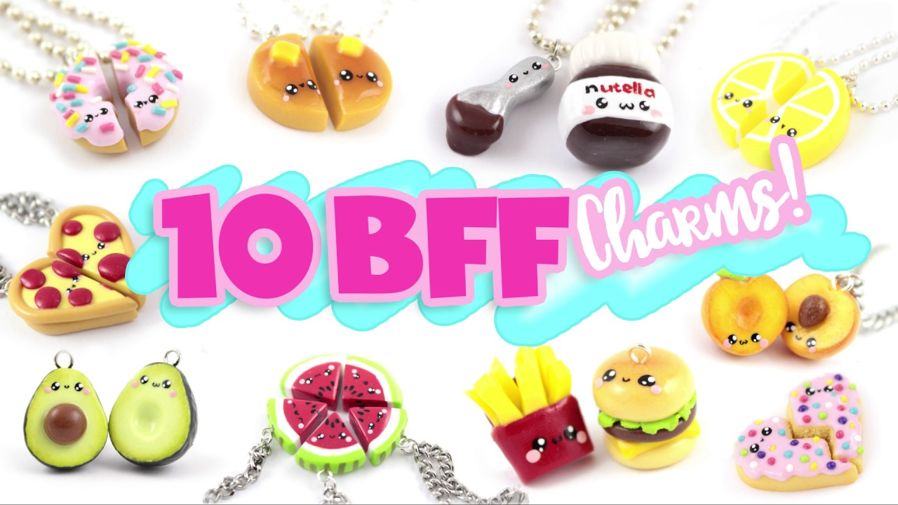 10 Food Bff Diy S Polymer Clay Compilation