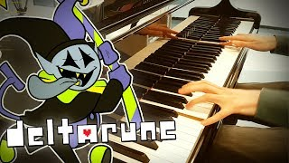Deltarune The World Revolving Jevil 39 s Theme Yamaha Grand Piano.mp3