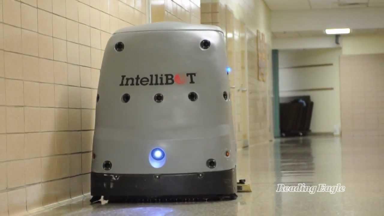 Robot Janitor  YouTube