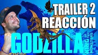 Godzilla 2 : King of monsters - TRAILER 2 REACCIÓN - REACTION - REVIEW