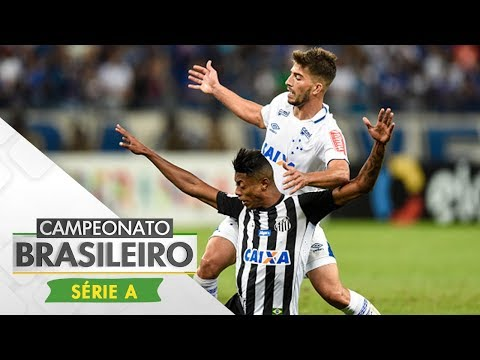 Melhores momentos - Cruzeiro 1 x 1 Santos - Campeonato Brasileiro (27/08/2017)