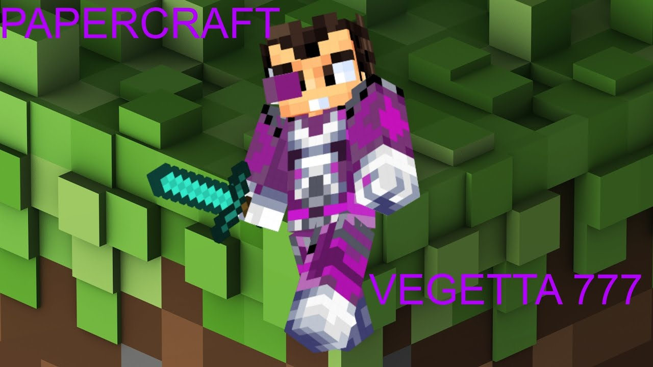 Vegetta Minecraft Papercraft Skin Vegetta YouTube - Skin para minecraft pe de vegetta777