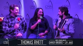 CMA Interview with Thomas Rhett