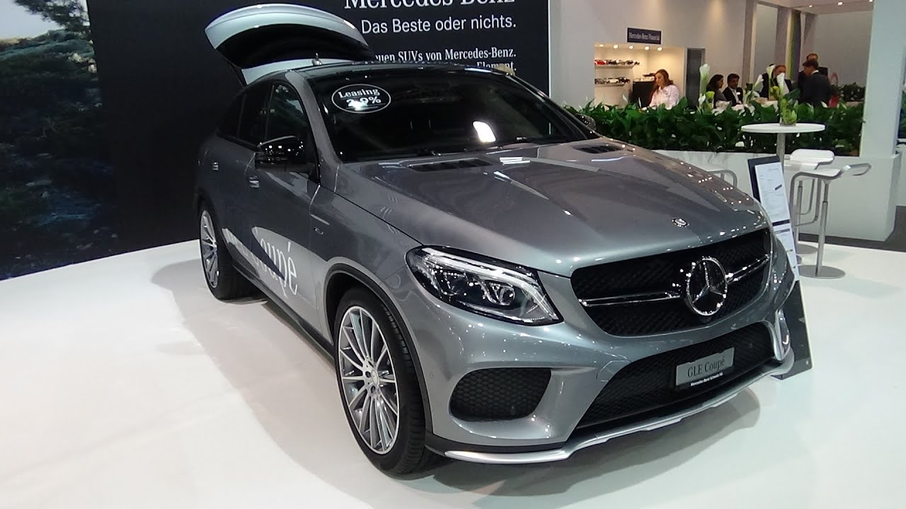 Gle 450 Coupe >> 2016 - Mercedes-Benz GLE 450 AMG 4Matic Coupé - Exterior ...