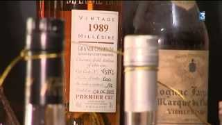Une collection record de bouteilles de Cognac