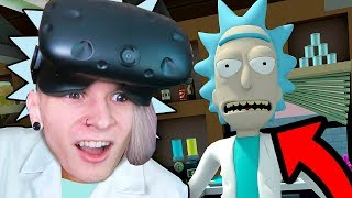 РИК И МОРТИ ВСЕЛИЛИСЬ В МЕНЯ В ВИРТУАЛЬНОЙ РЕАЛЬНОСТИ Rick and Morty Virtual Rick ality