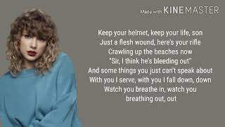 Taylor Swift - Epiphany lyrics