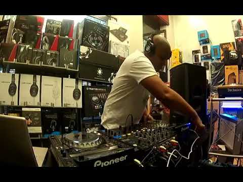 Vj Ramos at Musiclife Djpoint in Turin Italy