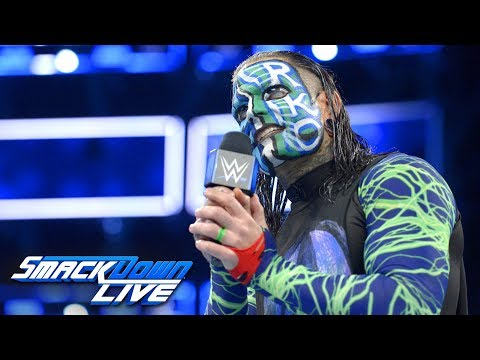 Jeff Hardy wants Randy Orton inside Hell in a Cell: SmackDown LIVE, Aug. 28, 2018