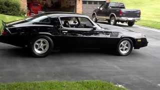 1978 CAMARO Z28 BLACK ON BLACK