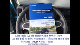 XE TẢI 5 TẤN THACO OLLIN NEW 500 EURO 4 - XE TẢI THẾ HỆ MỚI