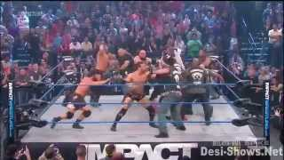 Tna Impact Wrestling (Mr Anderson vs James Storm) 08/03/13