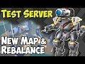 War Robots Test Server 3 7 Gameplay New Map Castle Rebalance WR mp3