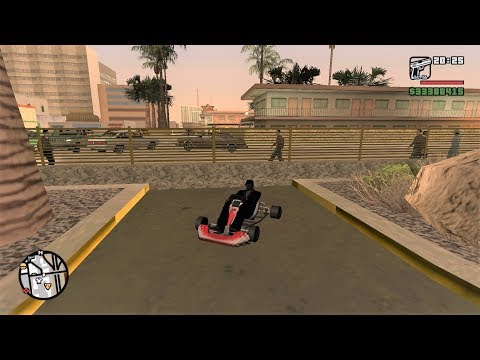 How To Get A Go Kart In GTA San Andreas - New Location || PART -2