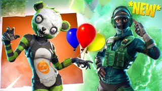 *NEW* Skins, Permanent Gliding AND BALLOONS UPDATE ON FORTNITE! (Spooky Team Leader Gameplay)