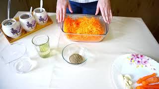 Корейская Морковь Супер быстро, просто и вкусно