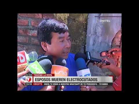 Una pareja de esposos pierde la vida al electrocutarse mientras tendían su ropa