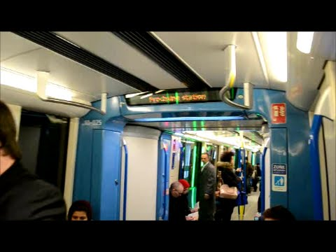 ANOTHER RIDE ON NEW MONTREAL AZUR METRO