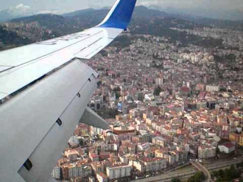 Trabzon landing SUNEXPRESS