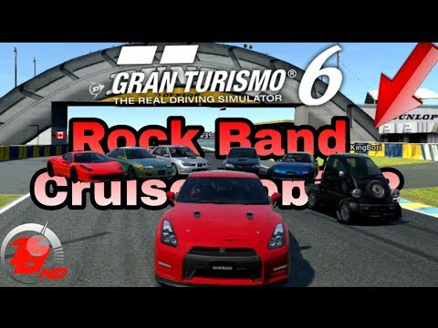 Gran Turismo 6 | Rock Band Cruise Lobby | The Party Is On!