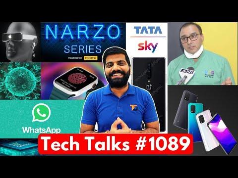 Tech Talks #1089 - Narzo Gaming Phone, MI 10 Lite 5G In India, Treatment In India, Galaxy M11, OP 8