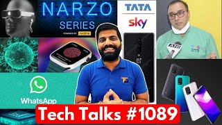Tech Talks #1089 - Narzo Gaming Phone, MI 10 Lite 5G in India, Treatment in India, Galaxy M11, OP 8