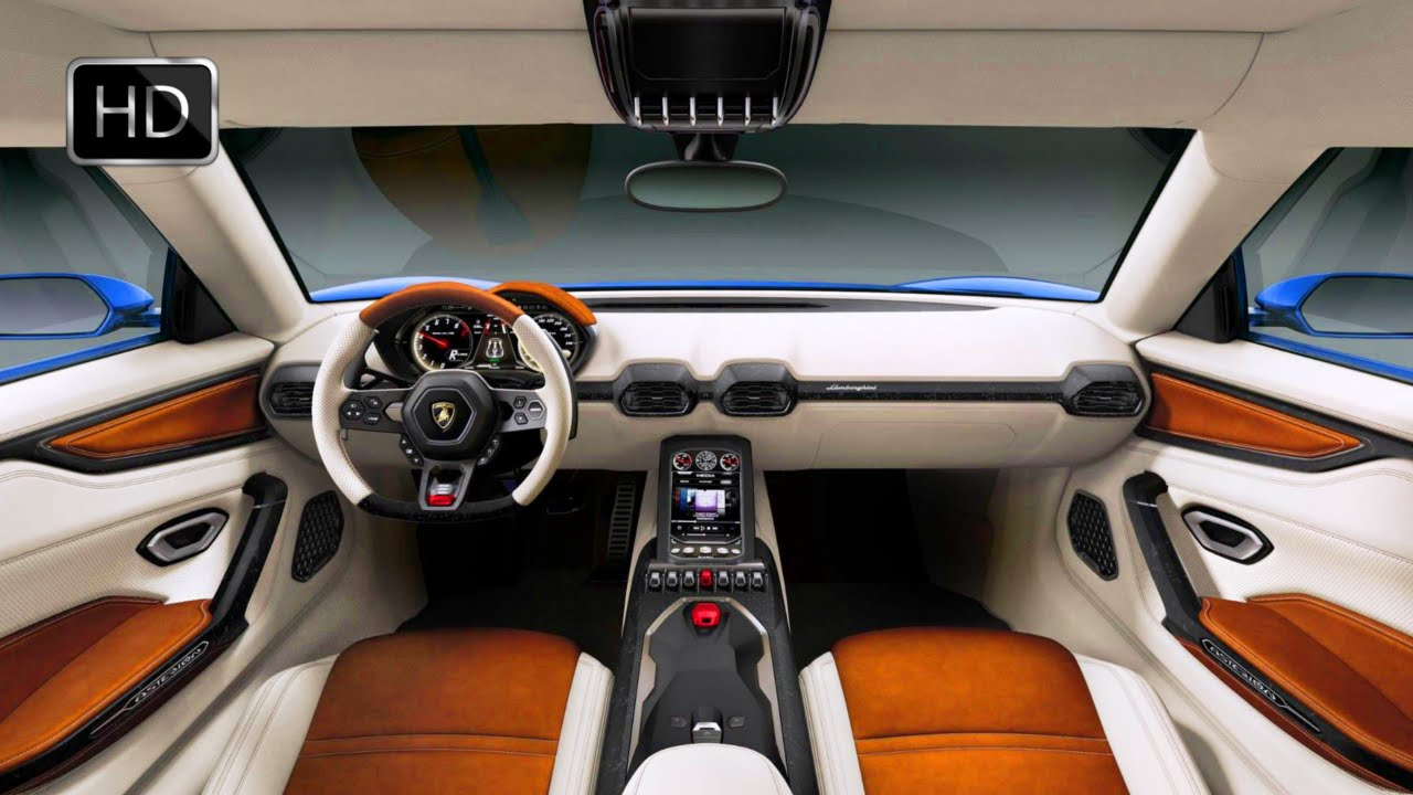 2015 Lamborghini Asterion Lpi 910 4 Plugin Hybrid Concept Interior